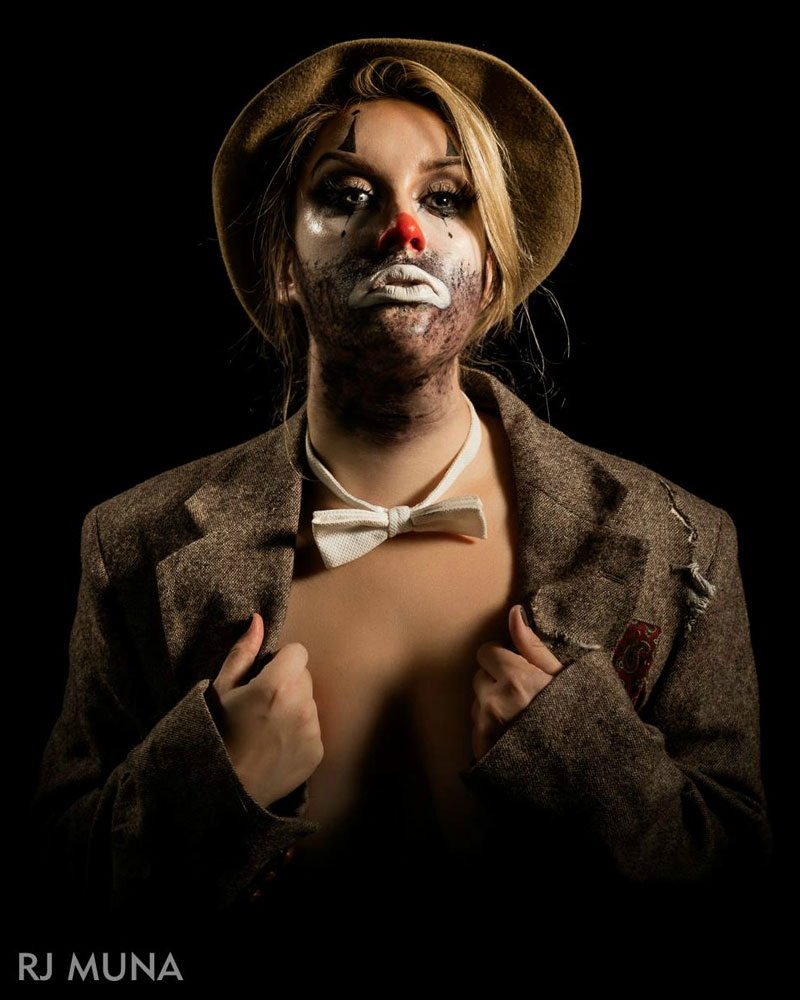Amelia Van Brunt - Clown - appearing with Wooden Nickel Circus