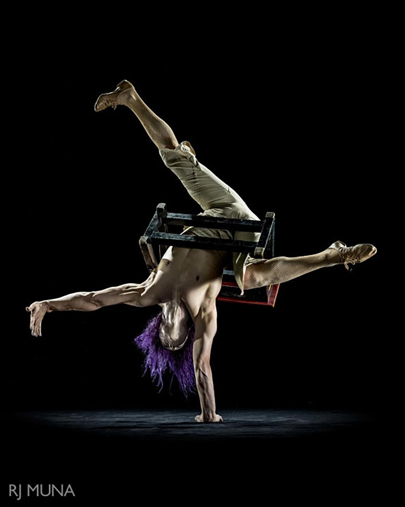 Fleeky Flanco - Hand Balancer & Contortionist - Wooden Nickel Circus