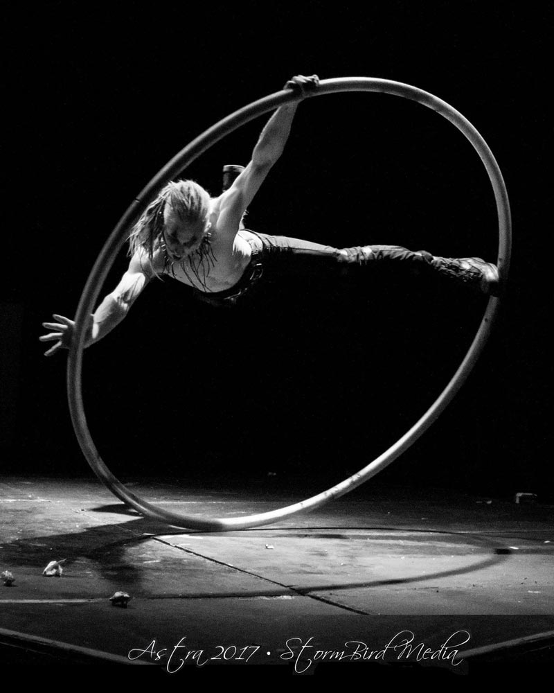 Jacob Doyle - Cyr Wheel - Wooden Nickel Circus