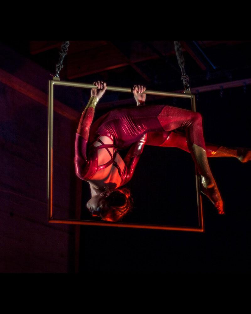 Naomi Aeva - Aerialist - Wooden Nickel Circus