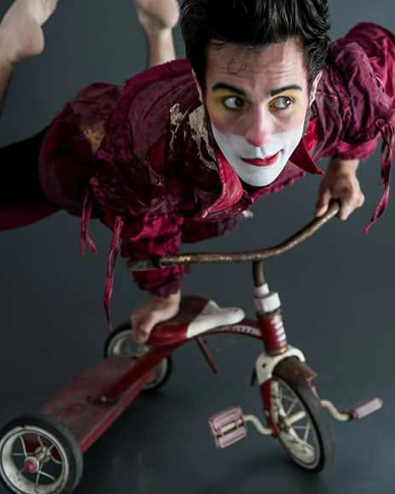 Colin Creveling - Clown - Wooden Nickel Circus